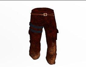 Pants 3D asset low-poly
