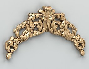3D Carved decor horizontal 019