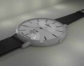 Classic Watch Omega DeVille 3D model