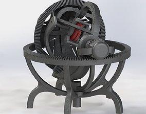 3D printable model Gyroscope tourbillon - mechanical 2