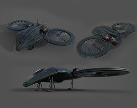 Cobra aircraft - PBR - lowpoly 3D model realtime