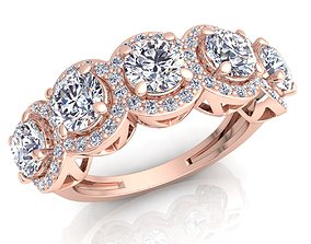 brilliant Diamond Ring 3d Model Print