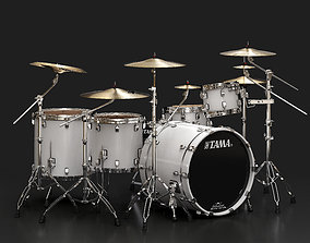 Tama Performer Drum Kit 3D model