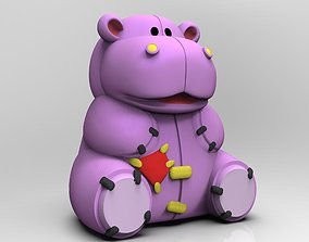 Teddy Hippo 3D printable model