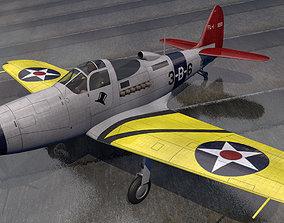 Bell FL-1 Airabonita 3D model ww2