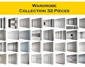 3D model Wardrobe Collection 32 Pieces