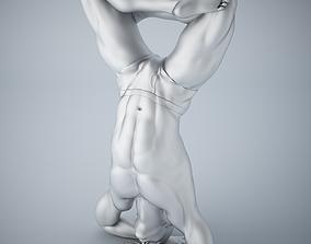 Man yoga 014 3D printable model