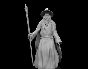 Gandalf Lord of the Rings 3d Model Stl File
