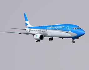 3D model Boieng 737-800 Aerolineas Argentinas