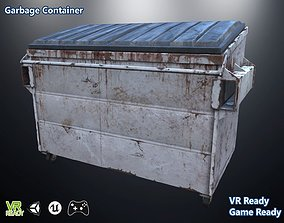 3D model Garbage Containers Low Poly