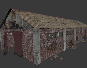 Old Village Stall 3D model