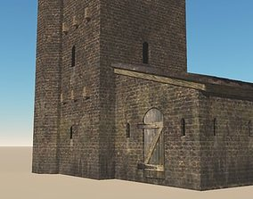 3D model Medieval Watch Tower