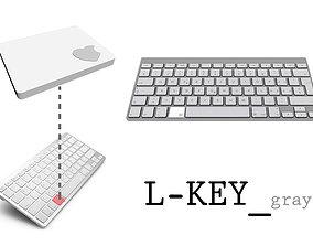 3D printable model L-Key Gray