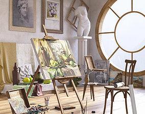 Workshop for the artist 3D