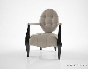 3D Donghia Gran Eaton armchair
