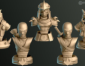3D print model Shredder - Bebop - Rocksteady - Foot 3