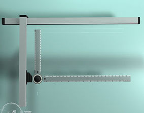 3D model Drafting table tool