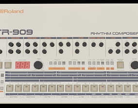 Roland TR-909 3D