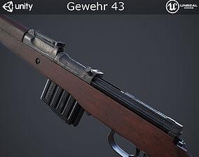 Gewehr 43 Rifle 3D asset
