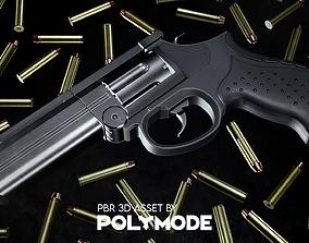 MP-412 REX Game-ready 3D asset