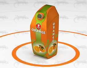 3D model Juice Carton Pack