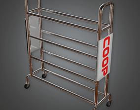 Basketball Rack - HSG - PBR Game Ready 3D asset