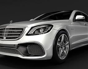 3D Mercedes AMG S 65 W222 2018