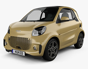 3D Smart ForTwo EQ Pulse coupe 2020