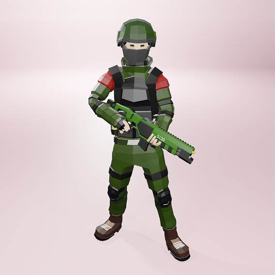 Military solider