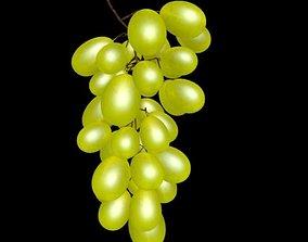 3D asset low-poly grape