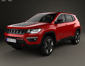 Jeep Compass Trailhawk Latam 2016 3D