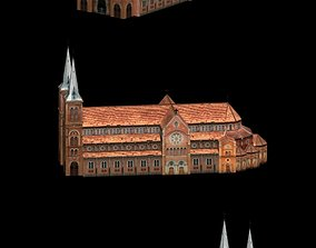 3D asset Notre Dame Cathedral in Paris