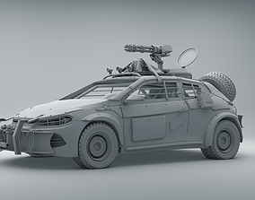 Volkswagen Scirocco War Zone war 3D