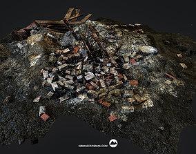 3D asset Construction debris