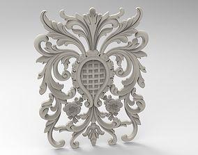 flourish ornament 3D printable model