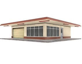 3D model STORE URBAN CITY BUILDING
