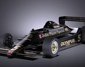 3D model Lotus 79 grand prix 1978 VRAY