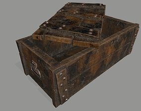 old chest 3D asset realtime