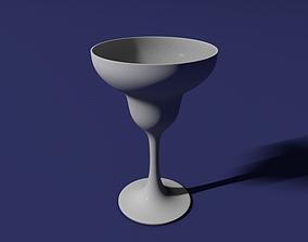 3D print model Margarita glass