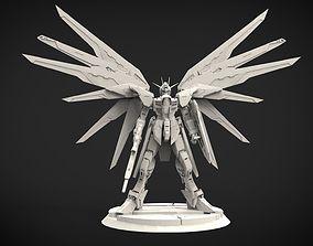 Freedom Gundam 3D print model mecha