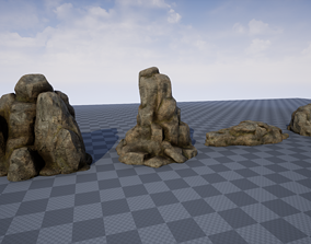 game-ready Game-ready Rocks Assets Pack