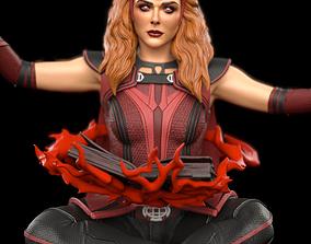 3D print model Scarlet Witch WandaVision Fan Art
