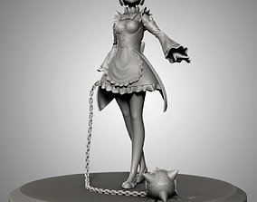 Rem with ball and chain for 3d print