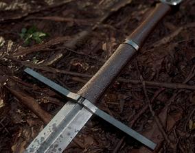 3D model Witcher Sword