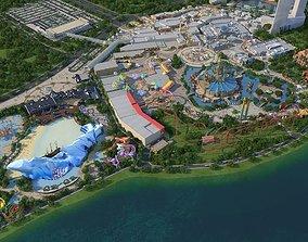 3D model Theme Park