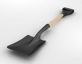 3D model Square Shovel