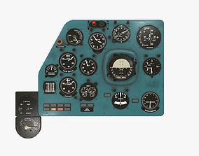3D asset Mi-8MT Mi-17MT Left Panels Board