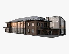 parametric 3D Administrative Office Building
