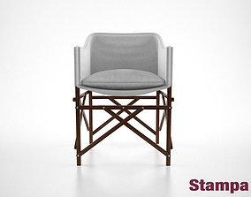 Stampa Cadeira Ripiego chair 3D model