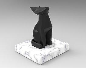 Fox Sculpture 3D asset